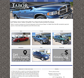 tabor sale website