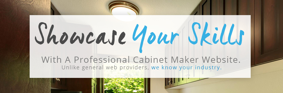 professional cabinet builder website image
