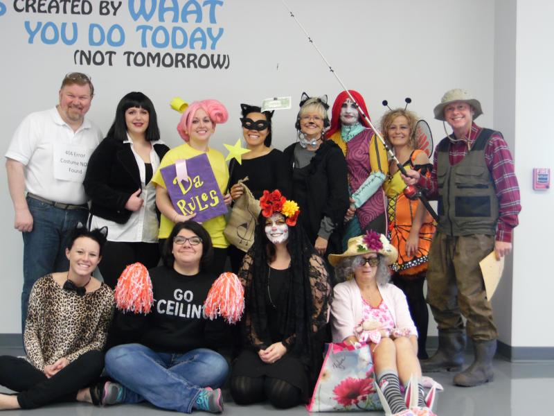 Atwill Media Staff, Halloween 2015