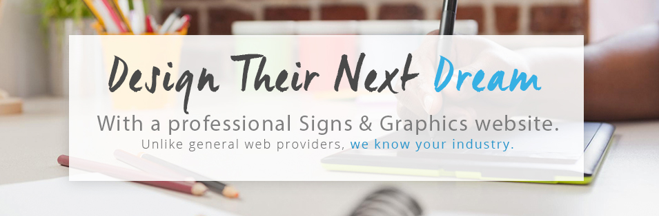 Signs & Graphics website image
